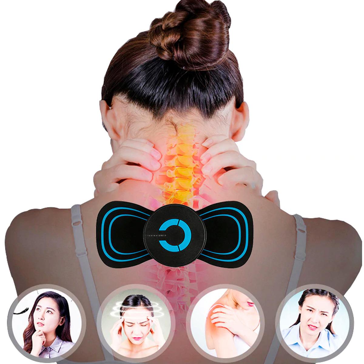 Masajeador Eléctrico Cuello Espalda Estimulador Muscular