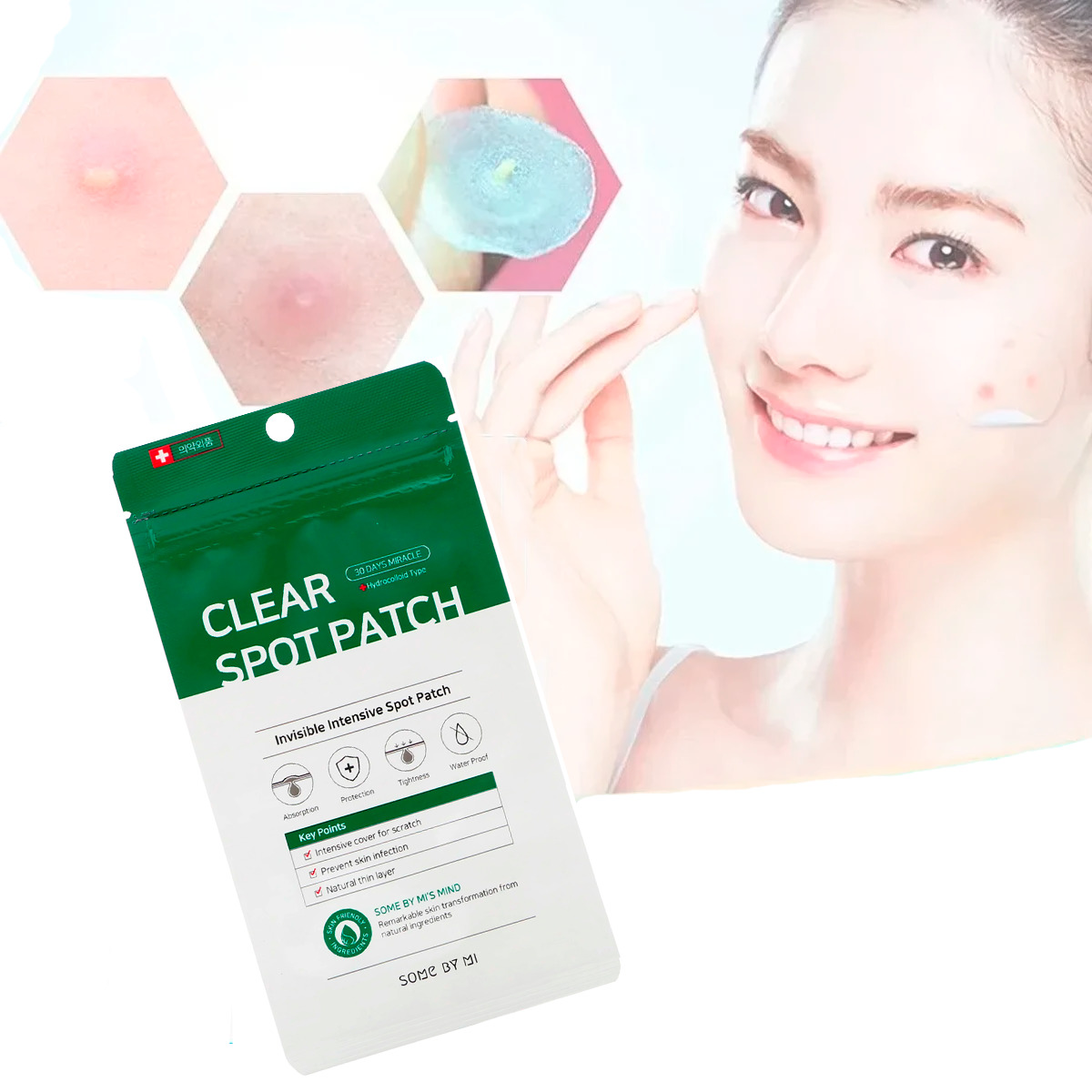 Some By Mi Clear Spot Patch 1 Pack Parches Para Acné