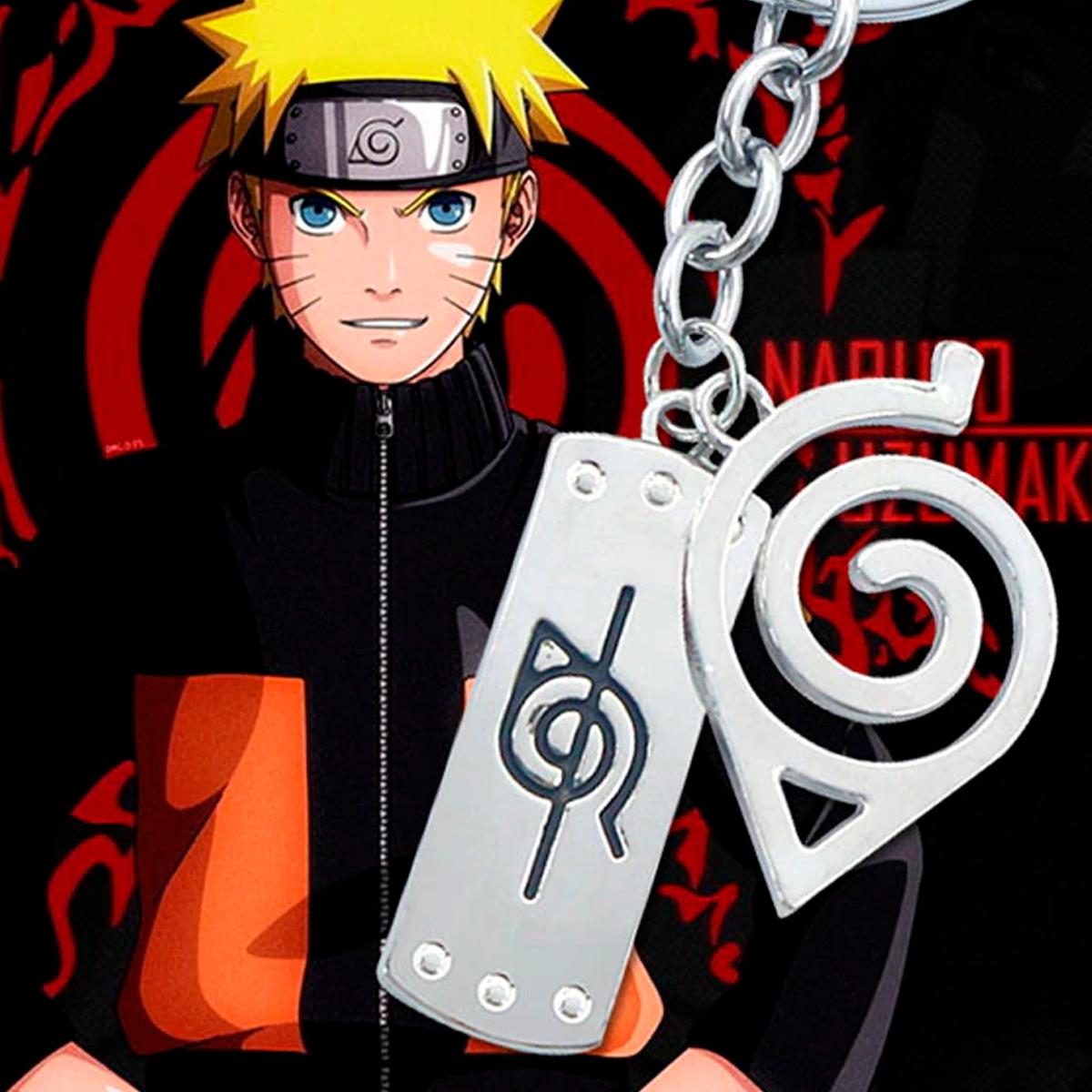 Anime Llavero Naruto Dijes Hoja Konoha Sasuke Itachi