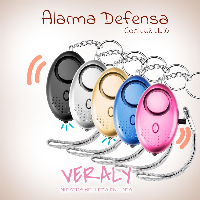 Alarma Pánico Defensa Personal Para Protección