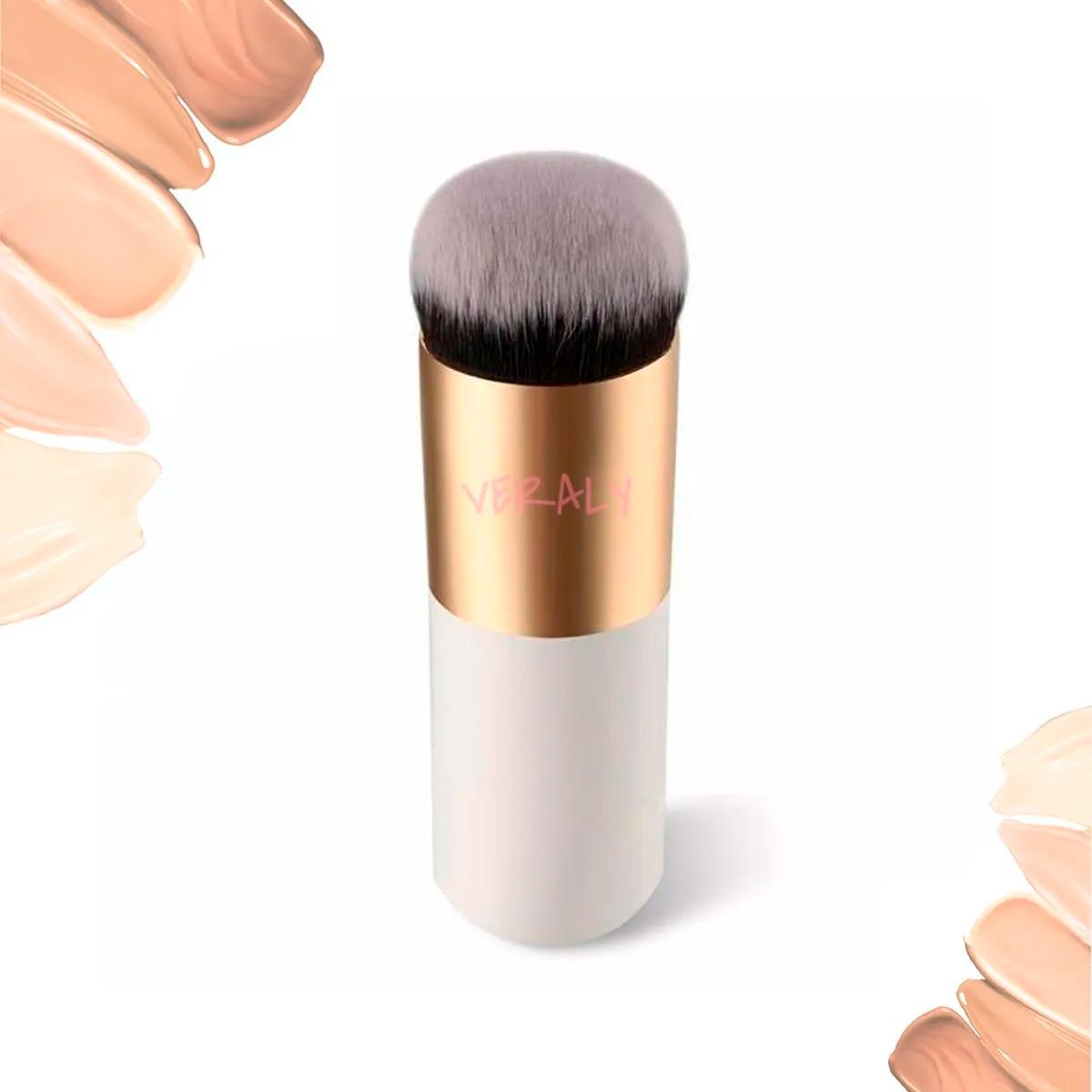 Brocha Kabuki Maquillaje Mineral, Compacta