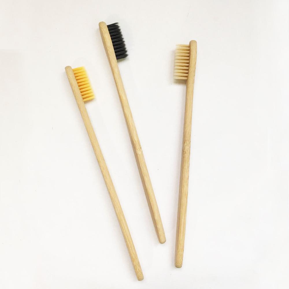 Cepillo De Dientes Suave Bambú Biodegradable 1pz