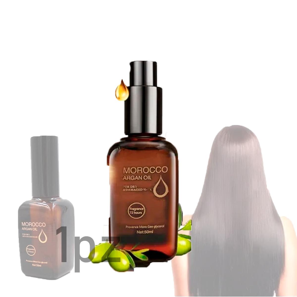 Aceite De Argan Puro Tratamiento Reparador Cabello Puntas