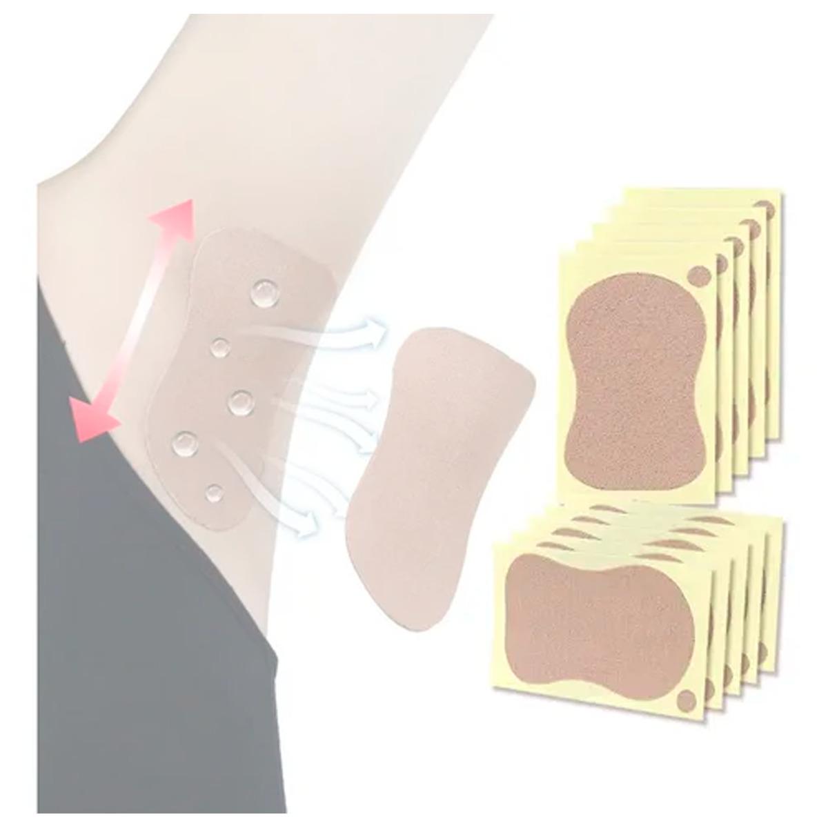 Almohadillas Absorbe Sudor Axilas Protectores Adhesivo