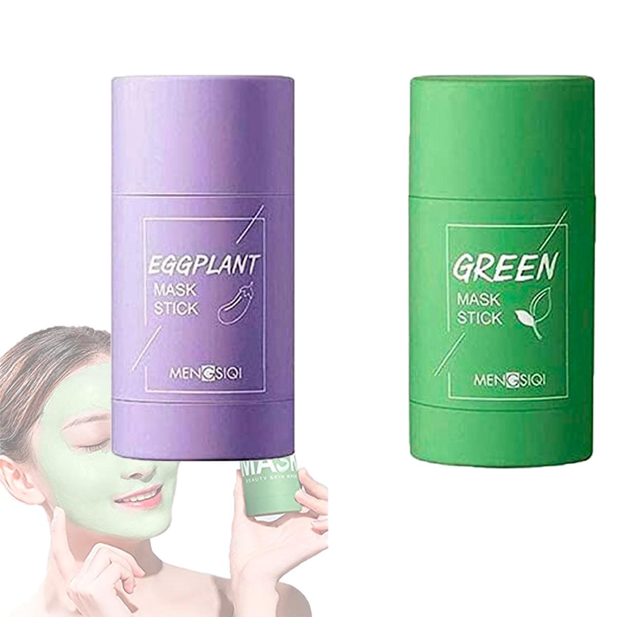 Berenjena Té Verde Máscara Limpiadora Stick Anti-acné 1 Pz