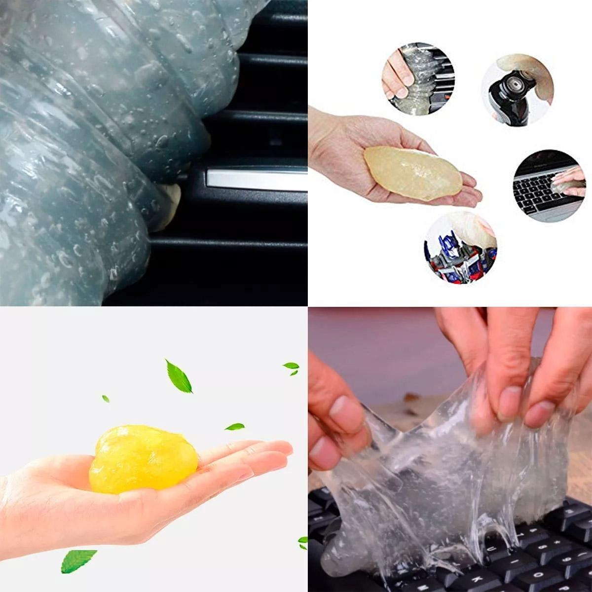 Gel Limpiador Slime Para Carros Celular Teclados No Grasoso